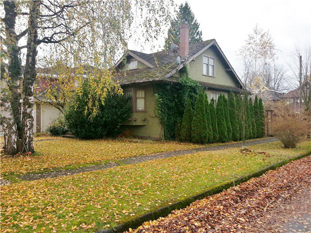Main Photo: 6709 WILTSHIRE Street in Vancouver: South Granville House for sale (Vancouver West)  : MLS®# V1035369