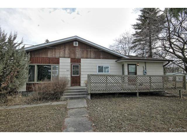 Main Photo: 527 Sabourin Street in STPIERRE: Manitoba Other Residential for sale : MLS®# 1413617