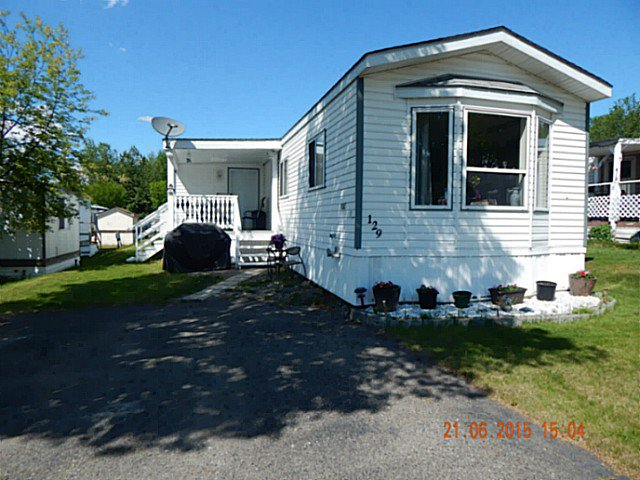 """Main Photo: 129 1000 INVERNESS Road in Prince George: Aberdeen Manufactured Home for sale in """"ABERDEEN"""" (PG City North (Zone 73))  : MLS®# N245334"""