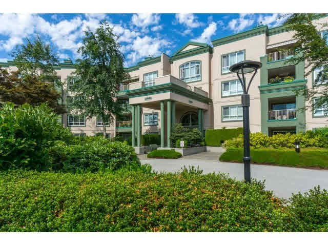 "Main Photo: 424 13880 70TH Avenue in Surrey: East Newton Condo for sale in ""CHELSEA GARDENS"" : MLS®# F1445932"