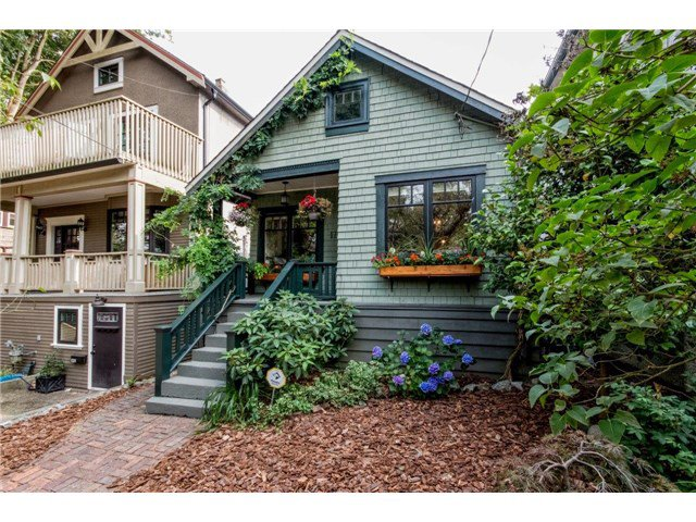 "Main Photo: 1776 E 3RD Avenue in Vancouver: Grandview VE House for sale in ""THE DRIVE"" (Vancouver East)  : MLS®# V1133114"