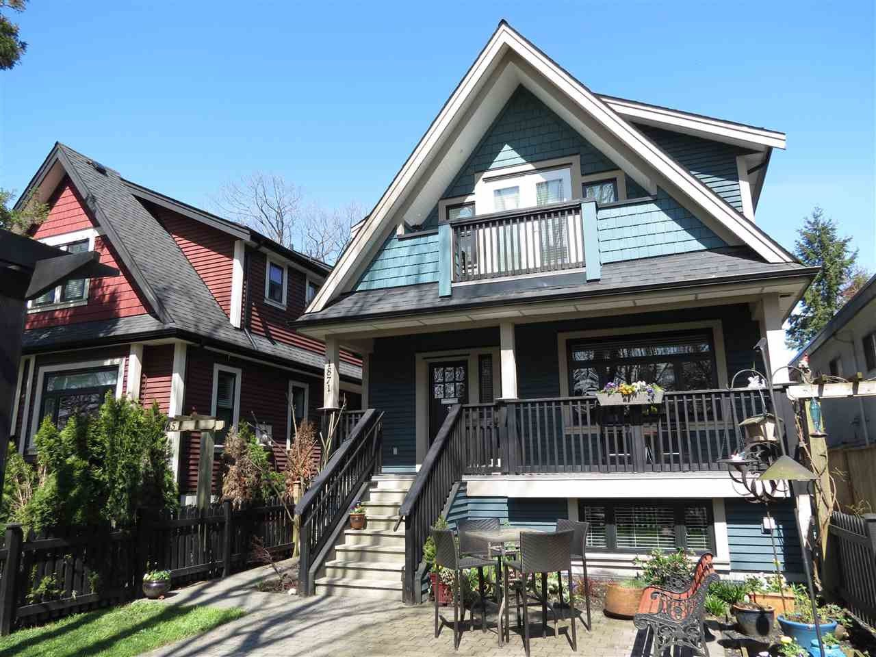 Main Photo: 1871 KITCHENER Street in Vancouver: Grandview VE House 1/2 Duplex for sale (Vancouver East)  : MLS®# R2156269