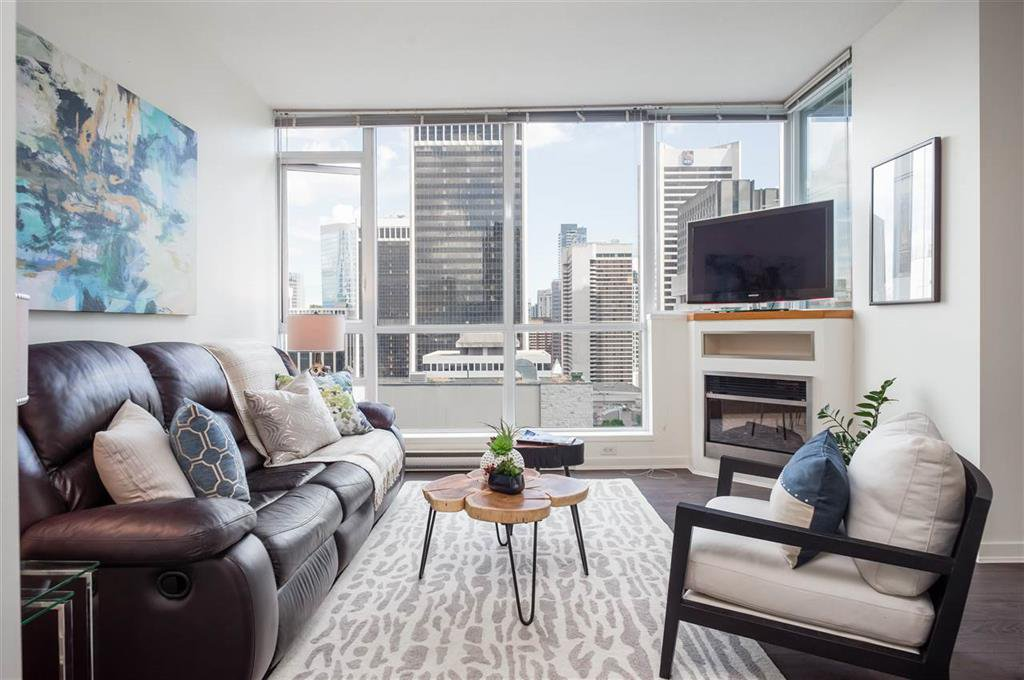 Main Photo: 2304 1189 MELVILLE STREET in VANCOUVER: Coal Harbour Condo for sale (Vancouver West)  : MLS®# R2188417