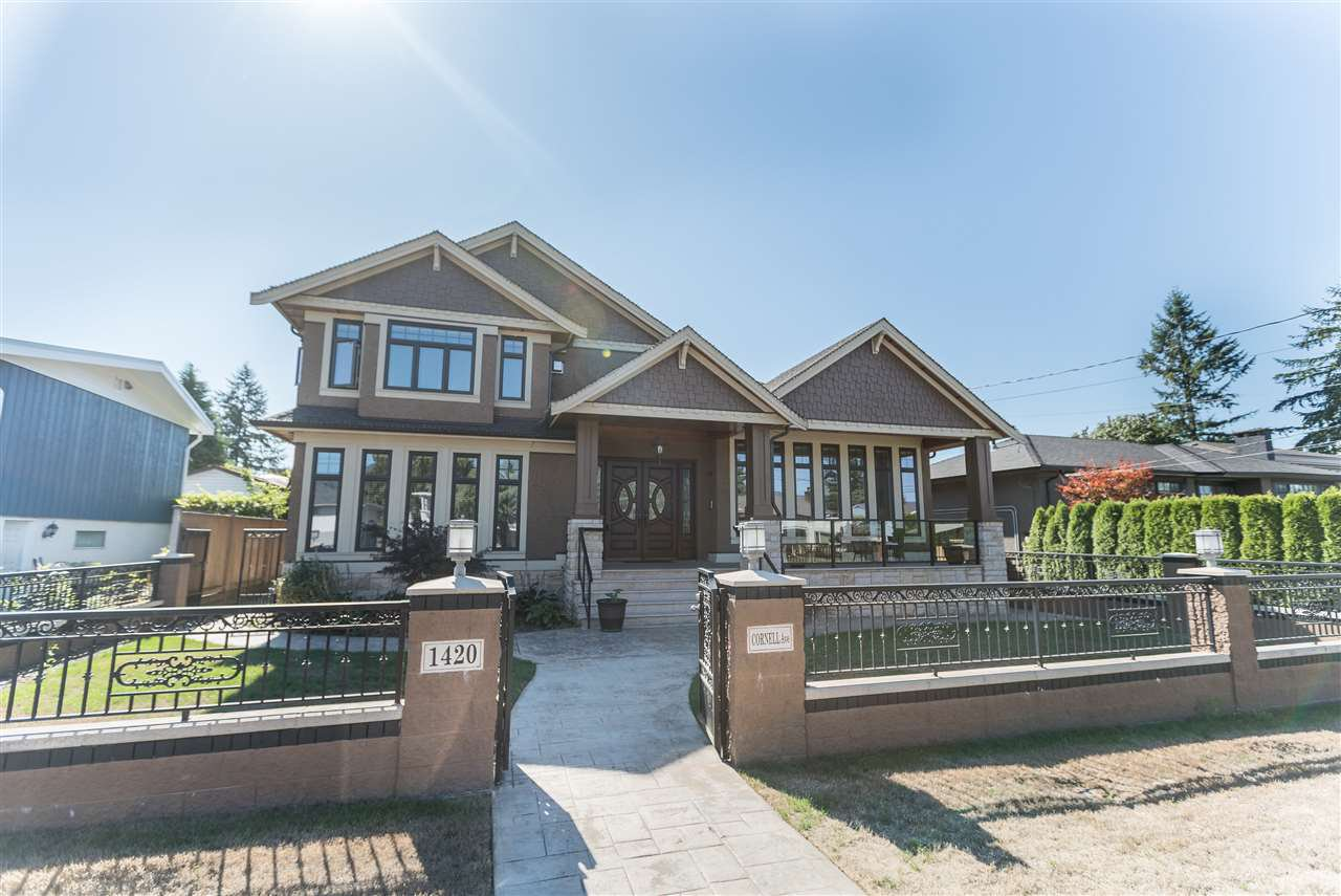 Main Photo: 1420 CORNELL AVENUE in Coquitlam: Central Coquitlam House for sale : MLS®# R2206852