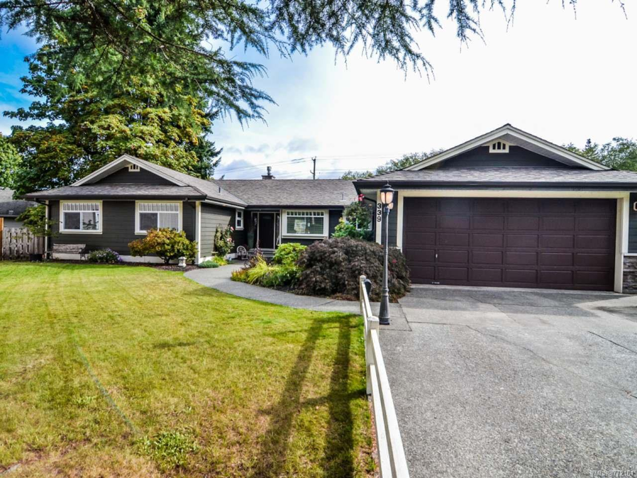 Main Photo: 339 Berne Rd in CAMPBELL RIVER: CR Campbell River Central House for sale (Campbell River)  : MLS®# 772161