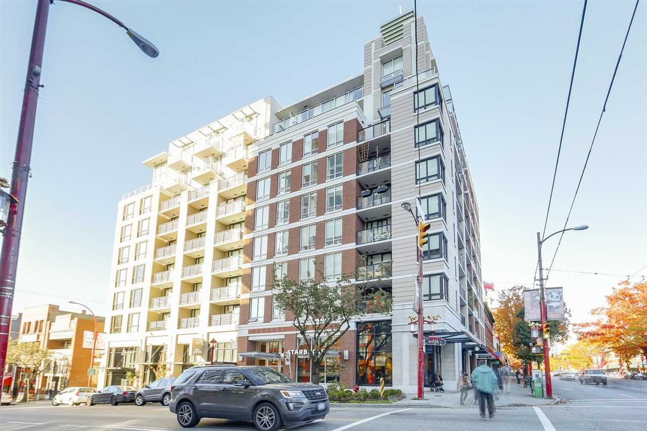 "Main Photo: 711 189 KEEFER Street in Vancouver: Downtown VE Condo for sale in ""KEEFER BLOCK"" (Vancouver East)  : MLS®# R2217434"