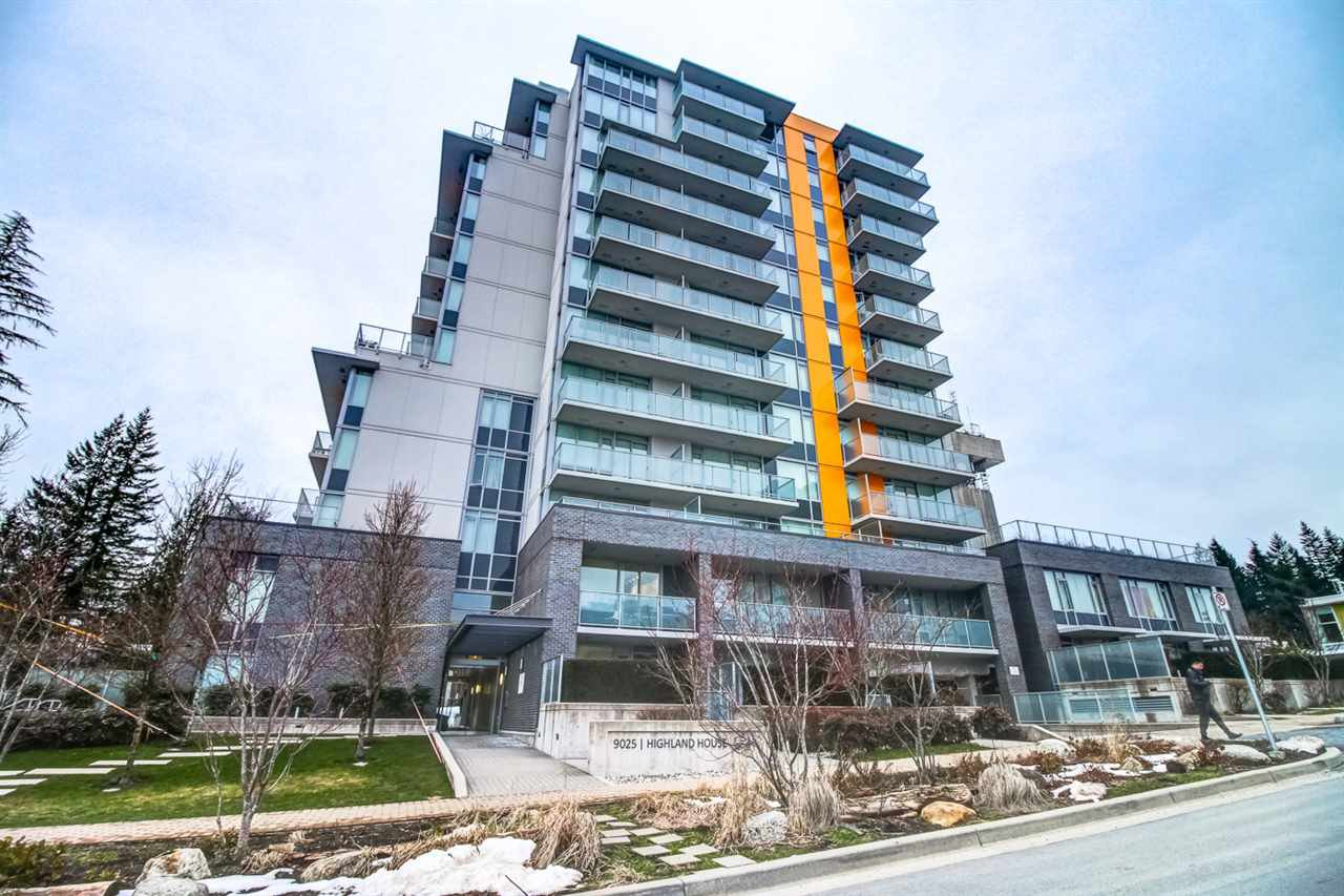 Main Photo: 1207 9025 HIGHLAND Court in Burnaby: Simon Fraser Univer. Condo for sale (Burnaby North)  : MLS®# R2243758