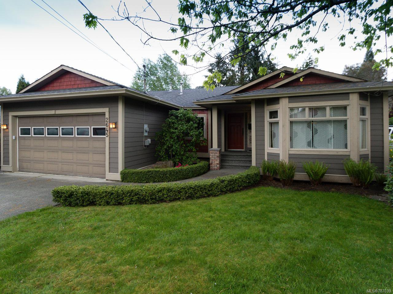 Main Photo: 2645 Soderholm Rd in CAMPBELL RIVER: CR Willow Point House for sale (Campbell River)  : MLS®# 787039