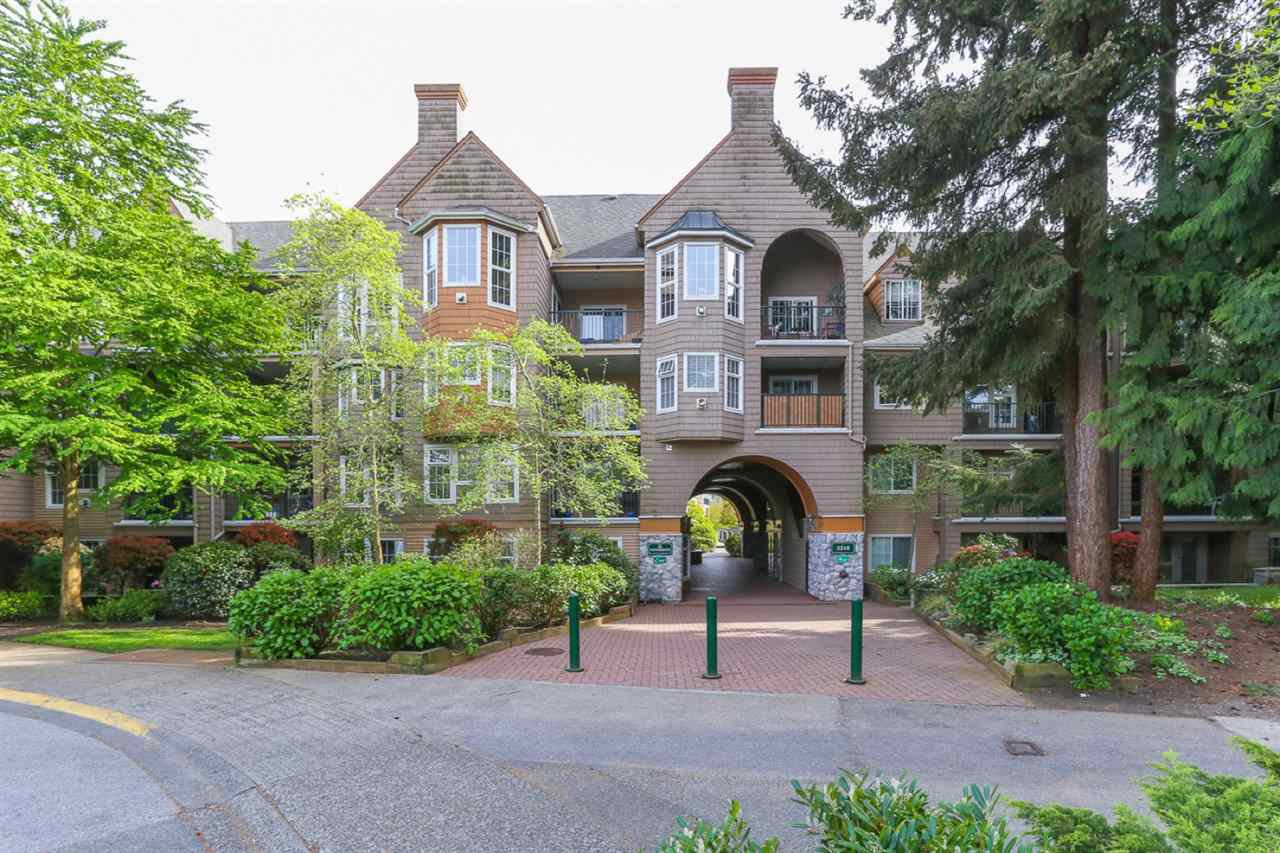 "Main Photo: 206 5518 14 Avenue in Delta: Cliff Drive Condo for sale in ""WINDSOR WOODS"" (Tsawwassen)  : MLS®# R2340594"