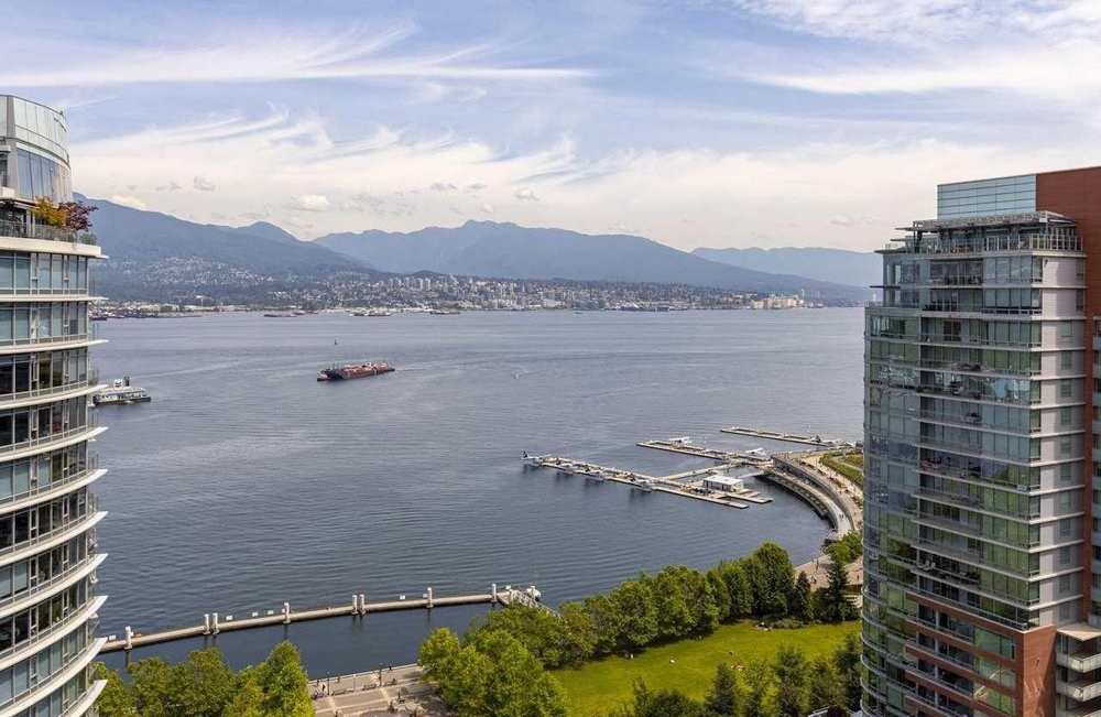 Main Photo: 2504 1205 West Hastings Street in Vancouver: Coal Harbour Condo for sale (Vancouver West)  : MLS®# R2388523