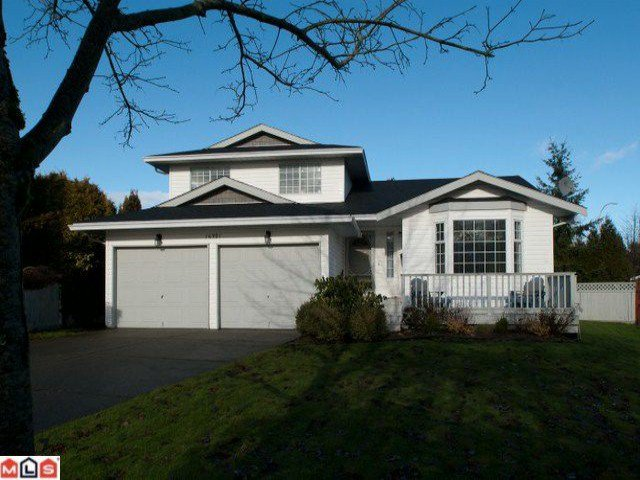 """Main Photo: 16321  13TH AV in Surrey: King George Corridor House for sale in """"SOUTH MERIDIAN"""" (South Surrey White Rock)  : MLS®# F1100387"""