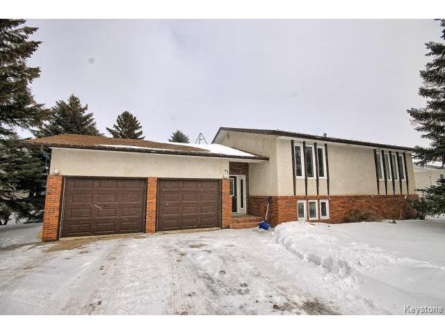 Main Photo: 43 Fillion Rue in STJEAN: Manitoba Other Residential for sale : MLS®# 1504580