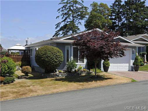 Main Photo: 82 Wolf Lane in VICTORIA: VR Glentana Manufactured Home for sale (View Royal)  : MLS®# 700173