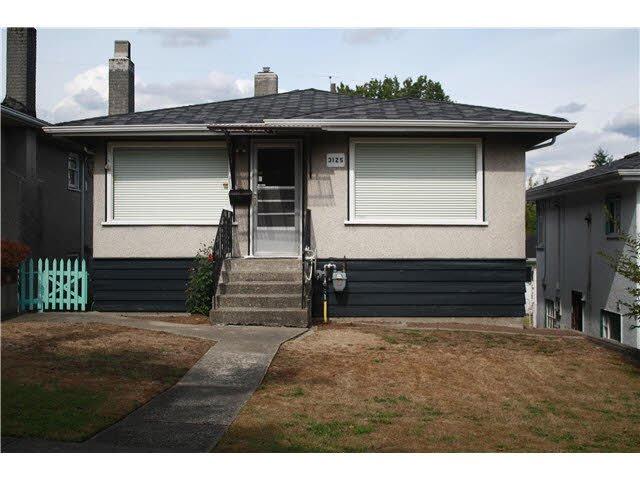 Main Photo: 3125 CHARLES Street in Vancouver: Renfrew VE House for sale (Vancouver East)  : MLS®# V1142768
