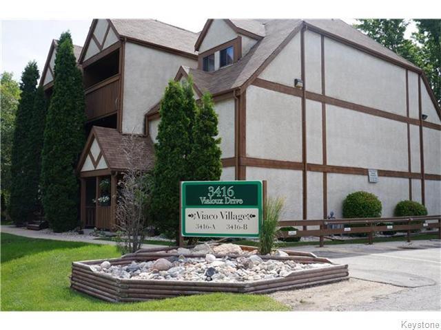 Main Photo: Vialoux Drive in Winnipeg: Condominium for sale (1F)  : MLS®# 1617662