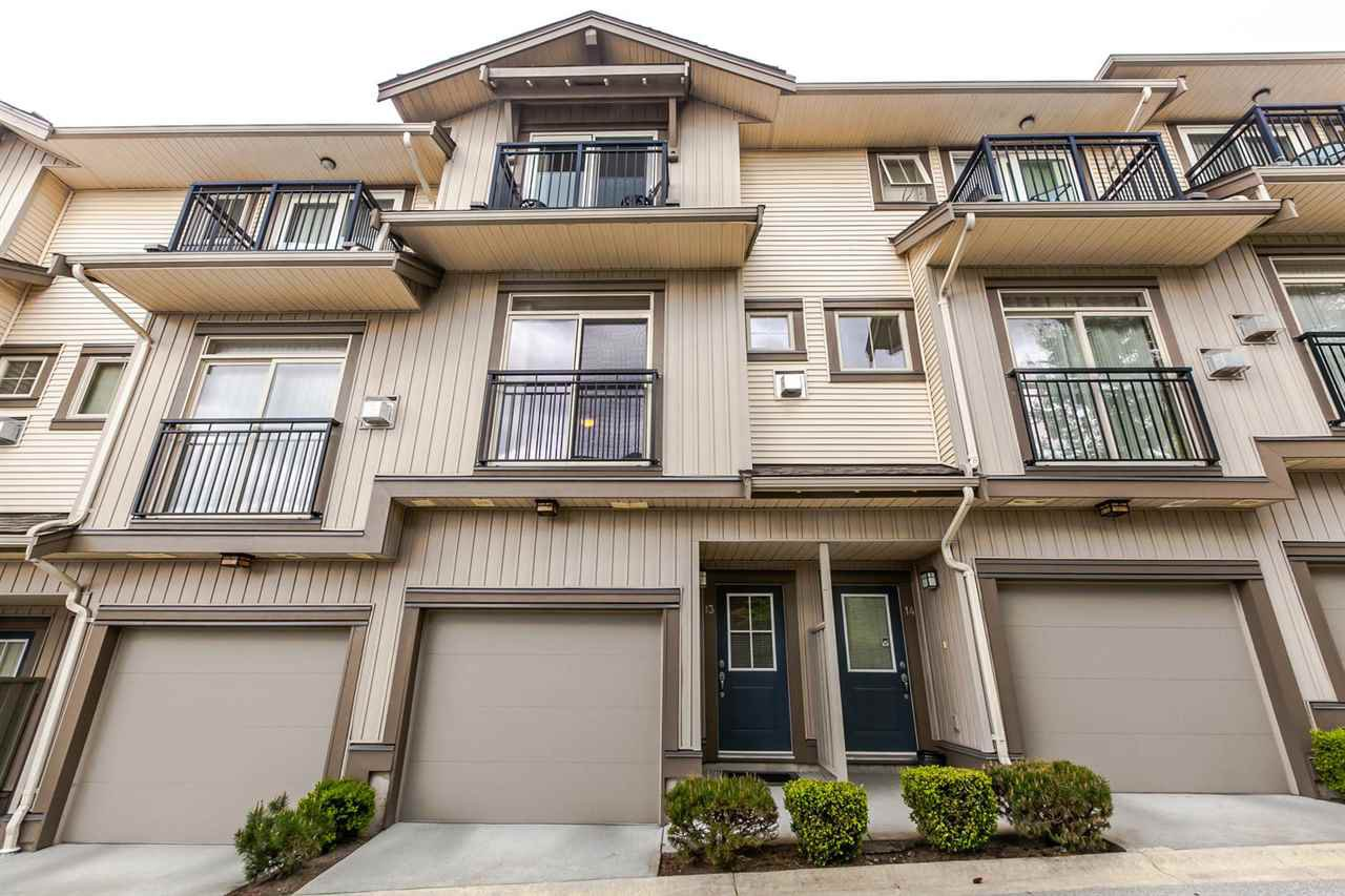 "Main Photo: 13 20326 68 Avenue in Langley: Willoughby Heights Townhouse for sale in ""Sunpointe"" : MLS®# R2160088"