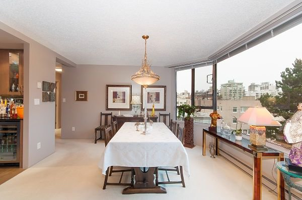 "Photo 5: Photos: 603 1860 ROBSON Street in Vancouver: West End VW Condo for sale in ""Stanley Park Place"" (Vancouver West)  : MLS®# R2233755"