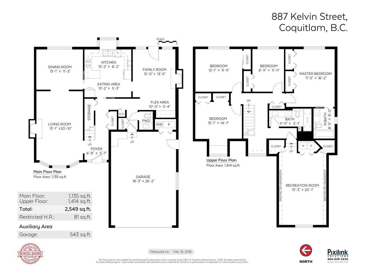 Photo 20: Photos: 887 KELVIN Street in Coquitlam: Harbour Chines House for sale : MLS®# R2240068