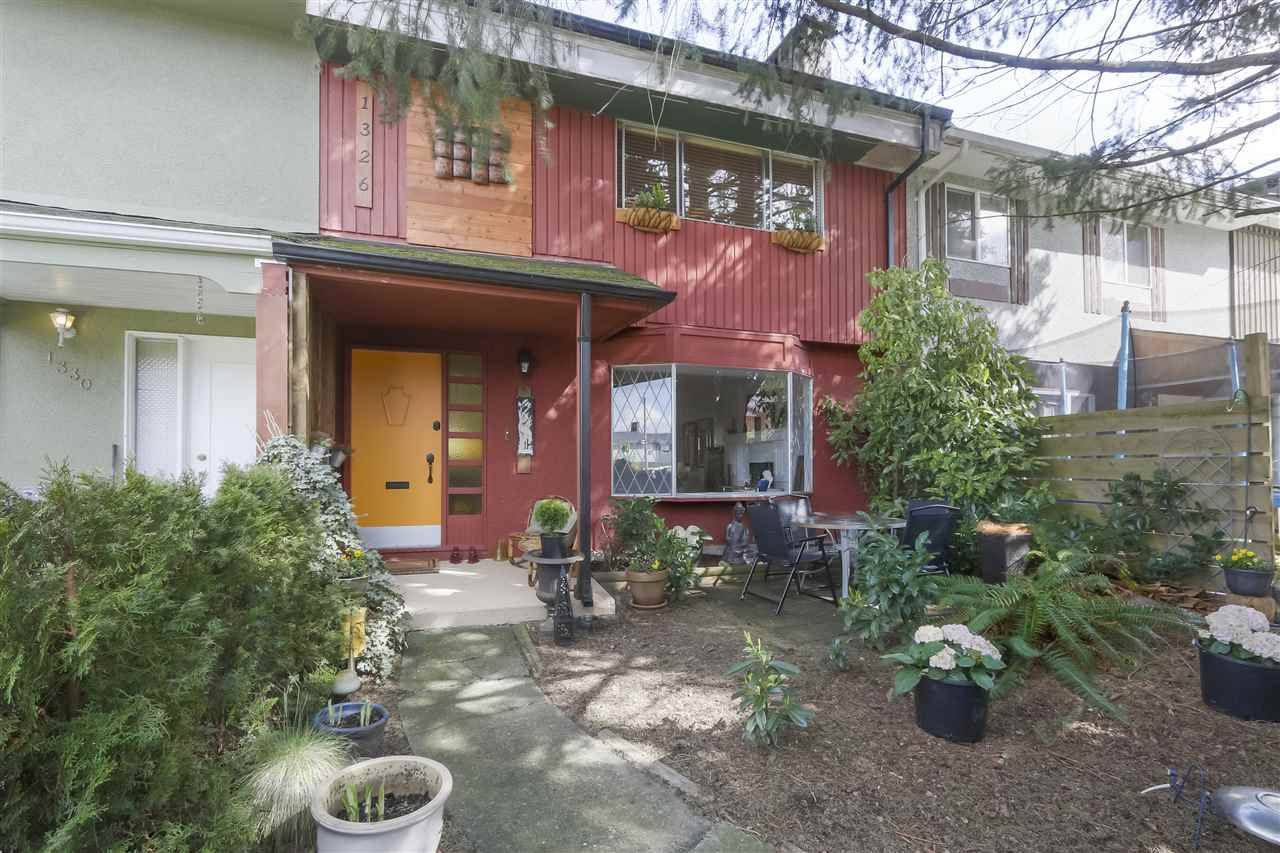 Main Photo: 1326 PAULA Place in Port Coquitlam: Mary Hill Townhouse for sale : MLS®# R2353469