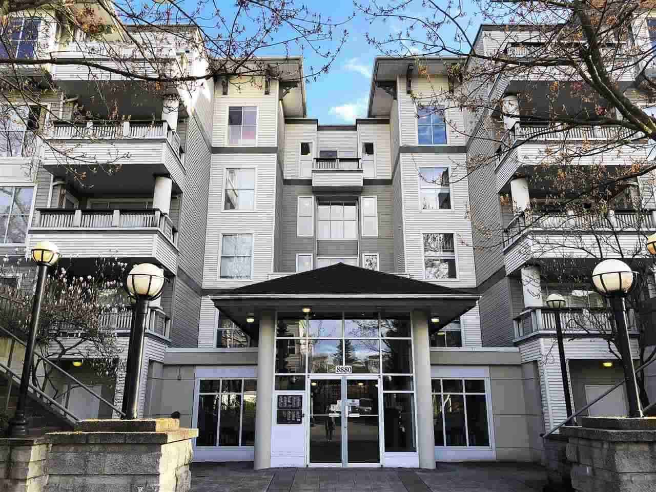 "Main Photo: 313 8880 JONES Road in Richmond: Brighouse South Condo for sale in ""REDONDA"" : MLS®# R2367593"