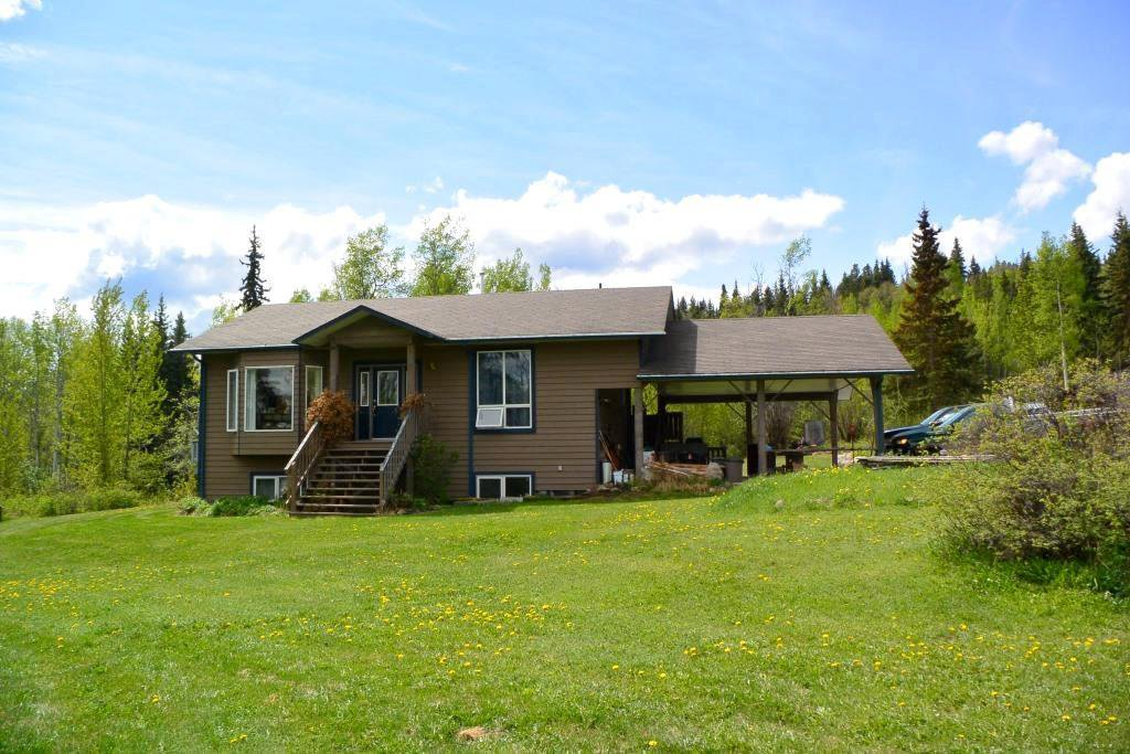 Main Photo: 2847 PTARMIGAN Road in Smithers: Smithers - Rural House for sale (Smithers And Area (Zone 54))  : MLS®# R2457122