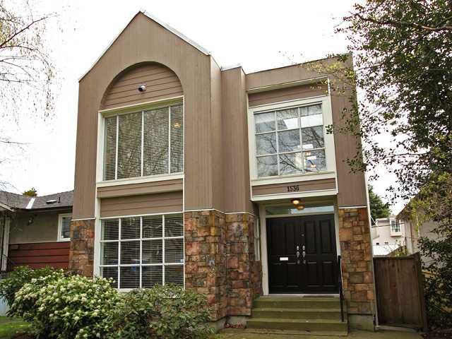 Main Photo: 1536 W 63RD Avenue in Vancouver: South Granville House for sale (Vancouver West)  : MLS®# V883312