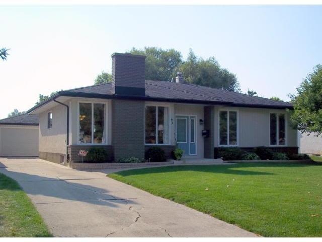 Main Photo: 63 Morningside Drive in WINNIPEG: Fort Garry / Whyte Ridge / St Norbert Residential for sale (South Winnipeg)  : MLS®# 1118585