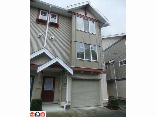 Main Photo: #12 6651 203rd Street in Langley: Willoughby Heights Townhouse for sale : MLS®# F1204178