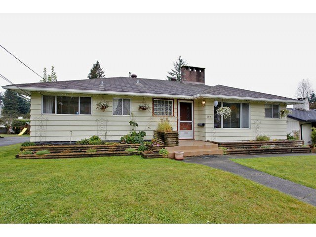 Main Photo: 760 SHAW AV in Coquitlam: Coquitlam West House for sale : MLS®# V1034767