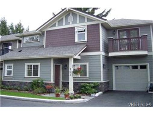 Main Photo: LANGFORD  TOWNHOME / TOWNHOUSE = VICTORIA TOWNHOME Sold With Ann Watley!