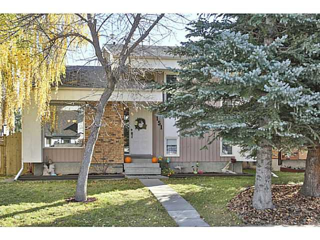 Main Photo: 151 WOODBROOK Way SW in Calgary: Woodbine Residential Detached Single Family for sale : MLS®# C3639407