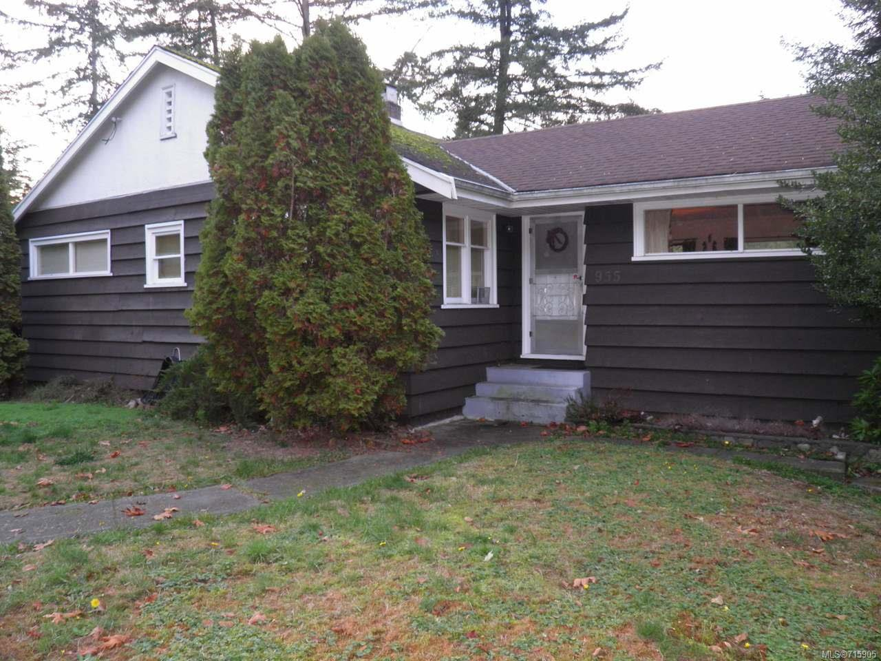 Main Photo: 955 1st St in COURTENAY: CV Courtenay City House for sale (Comox Valley)  : MLS®# 715905