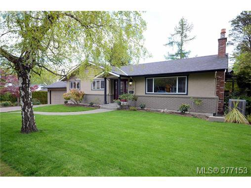 Main Photo: 4951 Thunderbird Place in VICTORIA: SE Cordova Bay Single Family Detached for sale (Saanich East)  : MLS®# 377153