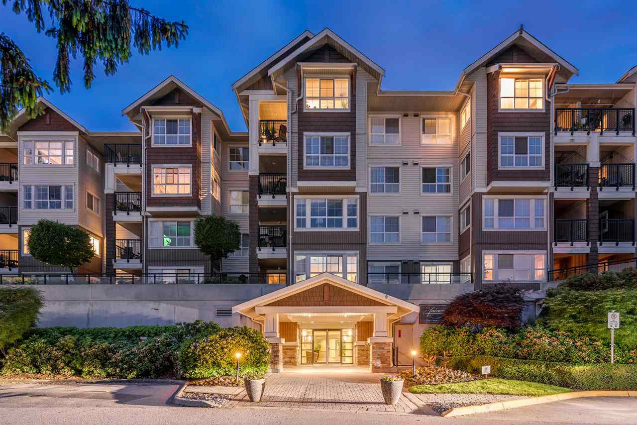 "Main Photo: 211 19677 MEADOW GARDENS Way in Pitt Meadows: North Meadows PI Condo for sale in ""The Fairways"" : MLS®# R2271706"