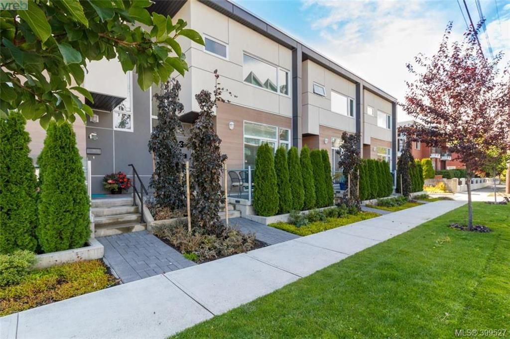 Main Photo: 3 21 Ontario St in VICTORIA: Vi James Bay Row/Townhouse for sale (Victoria)  : MLS®# 797223