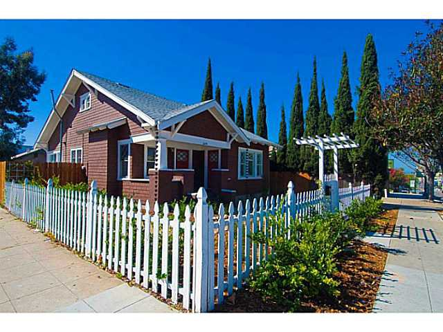 Main Photo: NORTH PARK House for sale : 2 bedrooms : 2639 University Avenue in San Diego
