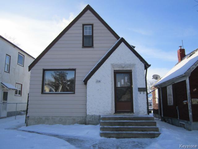Main Photo: 536 Matheson Avenue in WINNIPEG: West Kildonan / Garden City Residential for sale (North West Winnipeg)  : MLS®# 1500121