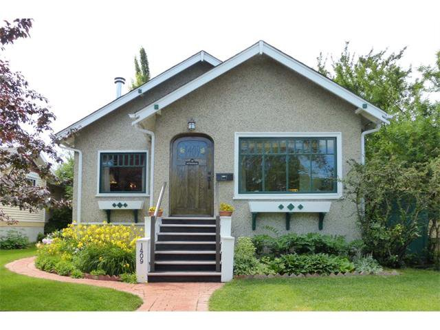 Main Photo: Map location: 1409 6 Street NW in Calgary: Rosedale House for sale : MLS®# C4008743