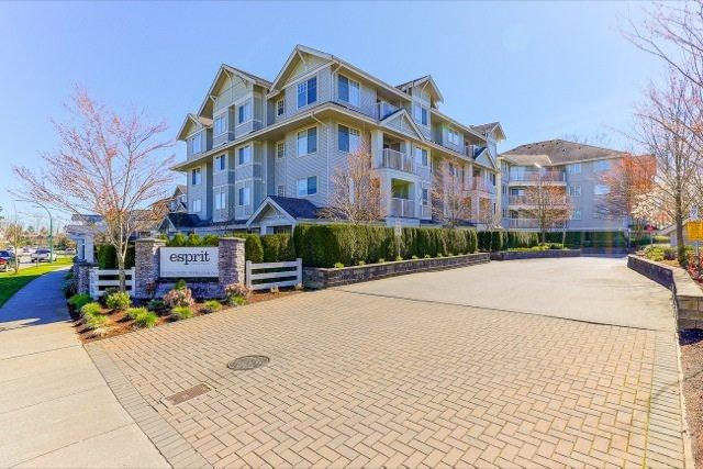 "Main Photo: 305 19340 65 Avenue in Surrey: Clayton Condo for sale in ""Esprit"" (Cloverdale)  : MLS®# R2045830"