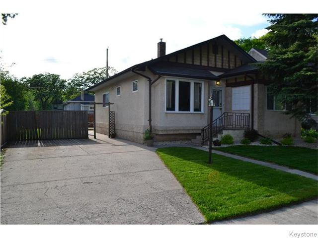 Main Photo: 294 Belvidere Street in Winnipeg: St James Residential for sale (West Winnipeg)  : MLS®# 1614084