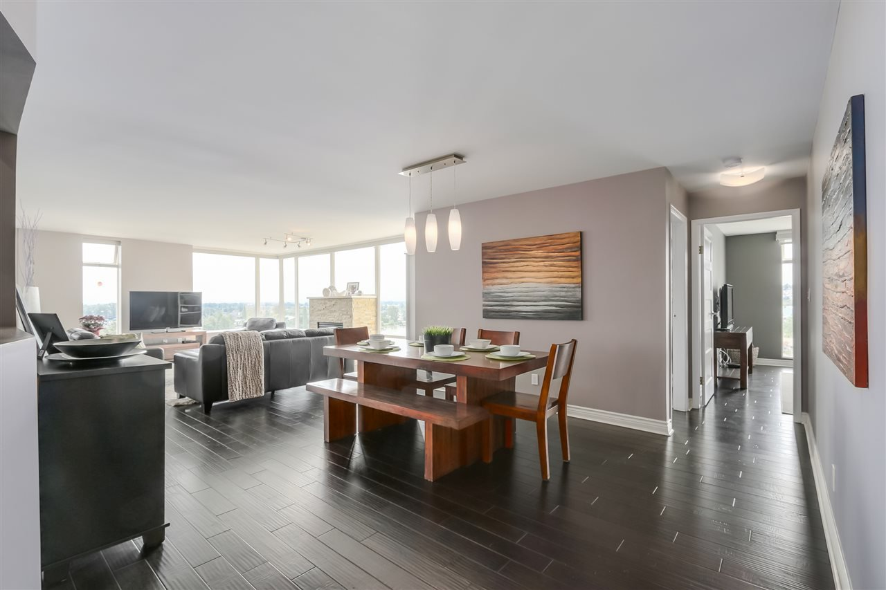 "Photo 3: Photos: 1404 8 LAGUNA Court in New Westminster: Quay Condo for sale in ""The Excelsior"" : MLS®# R2088498"