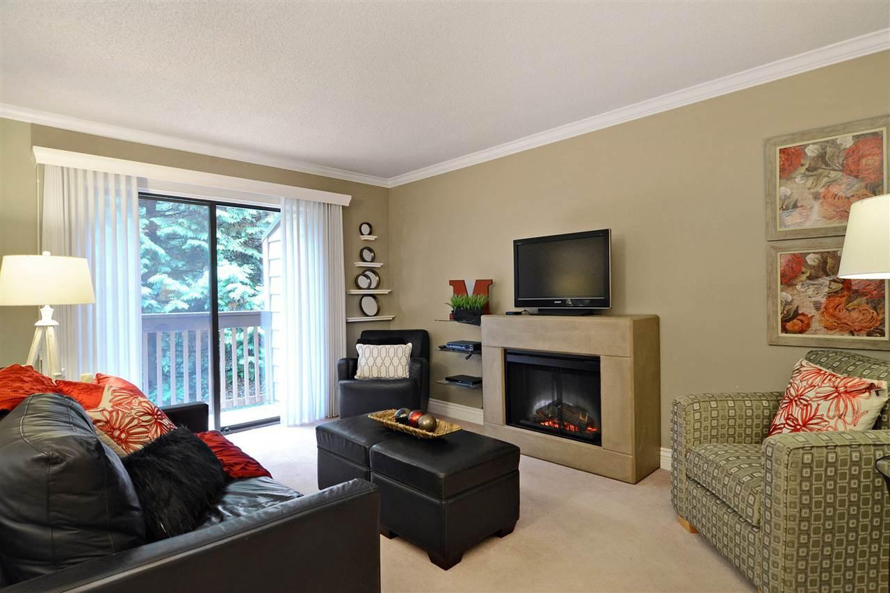 Living Room - custom fireplace
