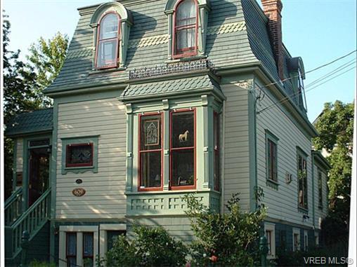 Main Photo: 609 Toronto St in VICTORIA: Vi James Bay Single Family Detached for sale (Victoria)  : MLS®# 751838