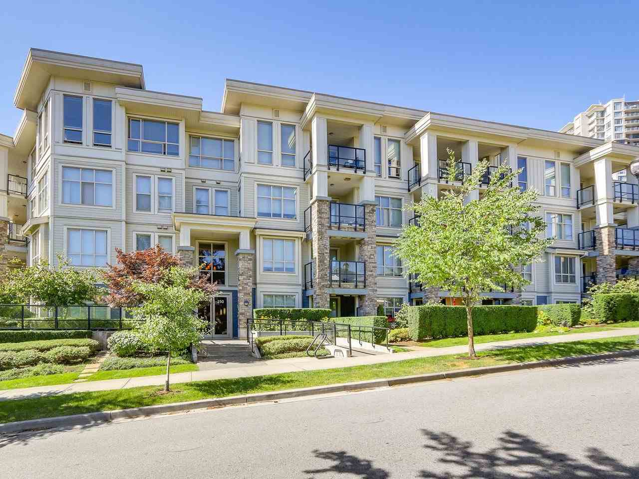 Main Photo: 408 250 FRANCIS WAY in New Westminster: Fraserview NW Condo for sale : MLS®# R2193497