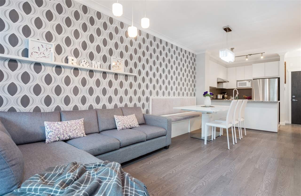"""Photo 7: Photos: 236 9388 MCKIM Way in Richmond: West Cambie Condo for sale in """"MAYFAIR PLACE"""" : MLS®# R2212712"""