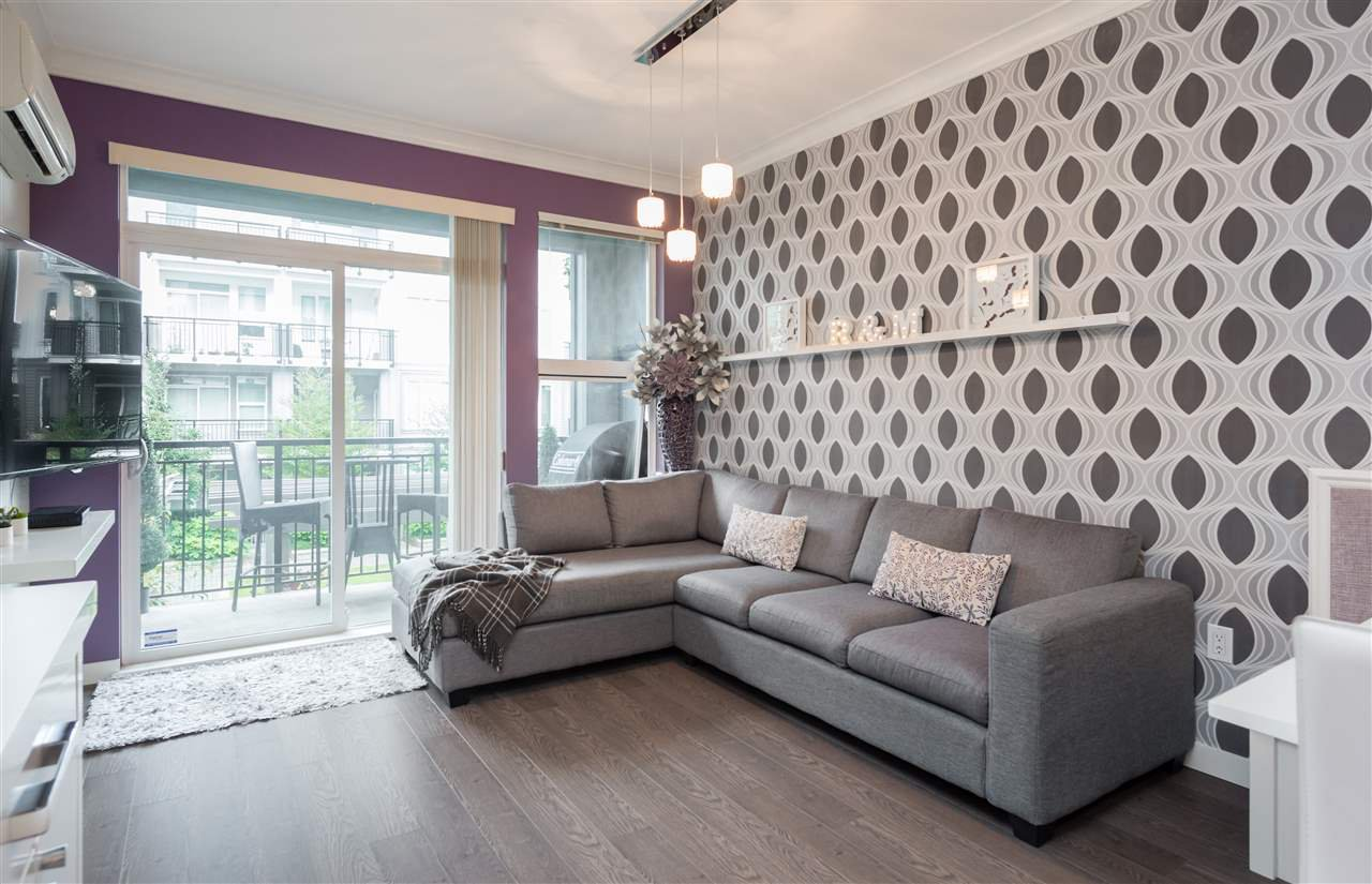 """Photo 3: Photos: 236 9388 MCKIM Way in Richmond: West Cambie Condo for sale in """"MAYFAIR PLACE"""" : MLS®# R2212712"""