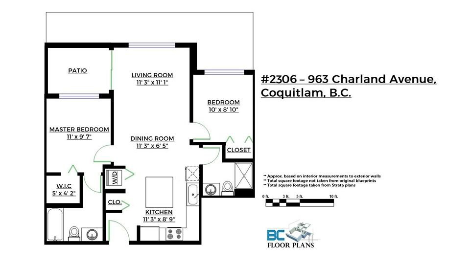 Photo 15: Photos: 2306 963 CHARLAND AVENUE in Coquitlam: Central Coquitlam Condo for sale : MLS®# R2223816