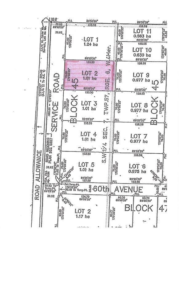 Main Photo: 6105 48 Street: Elk Point Land Commercial for sale : MLS®# E4100135