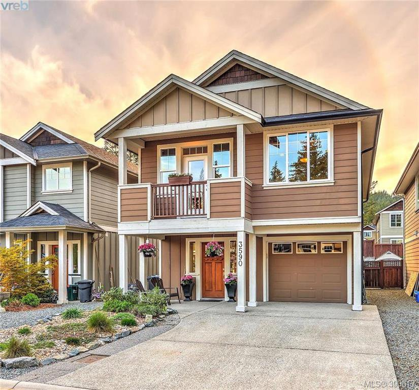 Main Photo: 3590 Kinetic Court in VICTORIA: La Happy Valley Single Family Detached for sale (Langford)  : MLS®# 390617