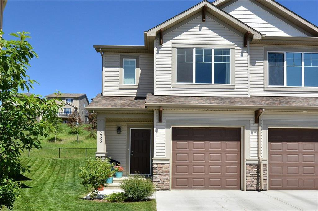Main Photo: 255 SUNSET Point: Cochrane Row/Townhouse for sale : MLS®# C4224587